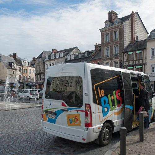 Nouvelle ligne de bus régulière à Pont-Audemer